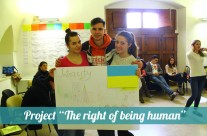 "Project ""The right of being human"". Review"