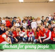 "Children who do not speak have received voice thanks to the ""Auchan for young people"""