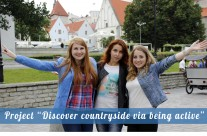 "Project ""Discover countryside via being active"". Review"