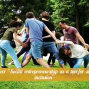 "Project ""Social entrepreneurship as a tool for social inclusion"". Review"