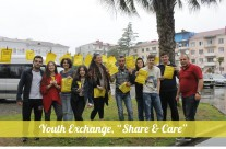 "Youth Exchange, ""Share & Care"", Kobuleti, Georgia"